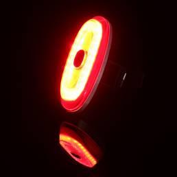 2Pcs ANTUSI A1 IP65 Aceleración de frenado inteligente Inducción Modo SOS 180 ° Luz trasera del reflector 700m