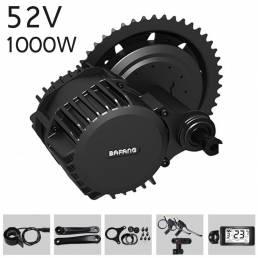 BAFANG BBSHD 52V 1000W bicicleta eléctrica modificada Mid-drive motor Kits de conversión de bicicleta eléctrica 8fun mot