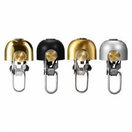 ROCKBROS vendimia campana de la bicicleta inoxidable campana ciclismo cuernos de bicicleta manillar campana accesorios d