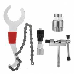 BIKIGHT Reparación de bicicletas de montaña herramienta Kits Bike Axis herramienta / Cortador de cadena / Cadena herrami