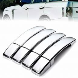 8 piezas de cromo ABS puerta cromada cubre para Range Rover Sport encontrado 3/4 Freelander 2