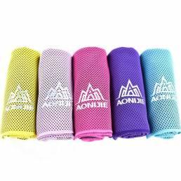 Aonijie enfriamiento de la aptitud toalla toalla del deporte hielo corriendo artefacto suave absorber el sudor de secado
