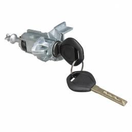 Puerta del conductor izquierda cerradura Conjunto de cilindro cilíndrico con 2 llaves para BMW X5 E53 2000-2006