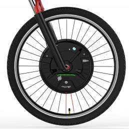 iMortor 3.0 Full Wireless 26in / 700C 350W 36V Motor Sin escobillas Intelligence Rueda delantera de bicicleta
