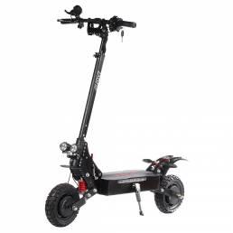 LAOTIE® ES18 Lite 52V 28.8Ah 21700 Batería 2400W Dual motor Scooter eléctrico plegable 65Km / h Velocidad máxima 100km K