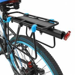 BIKIGHT 50Kg Capacidad Bicicleta Quick Release Equipaje Carga Asiento Poste Alforja Portaequipajes Estante trasero Fende