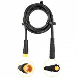 BIKIGHT 80CM 3Pin Impermeable Cable de extensión de línea de conversión Alambre para E-bike motor Velocidad Sensor Cable