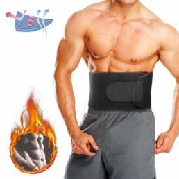 BIKIGHT Soporte de cintura ajustable Aptitud Cinturón Protección deportiva Atrás absorber el sudor Aptitud Equipo de pro