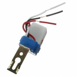 Fotocélula Interruptor de luz de calle Automático Encendido Apagado AC DC 12V 50-60HZ 10A Controlador de fotos Photoswit