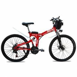 SMLRO MX300 48V 13Ah 500W 26in bicicleta eléctrica 35 km / h velocidad máxima 80 km rango máximo IP54 Impermeable bicicl