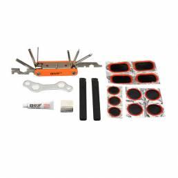 Bicicleta herramientas Reparación de neumáticos Caja Reparación de bicicleta de montaña herramientas Portátil herramient