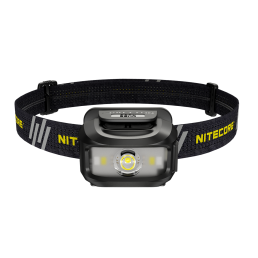 NITECORE NU35 Híbridos de doble potencia 460LM Potente LED Linterna frontal USB-C Carga rápida Recargable Fuerte reflect
