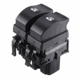 Control de ventana eléctrica botón de doble interruptor para Renault Clio II 1998-2014 8200060045