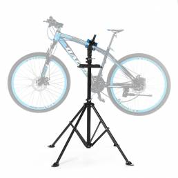 BIKIGHT Steel 110 ~ 180cm Estante de estacionamiento de bicicletas Soporte de estacionamiento de bicicletas plegable Sop