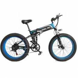 SMLRO S11 48V 14Ah 1000W 26in Bicicleta eléctrica plegable 50 km / h Velocidad máxima 70 km Bicicleta de montaña Bicicle
