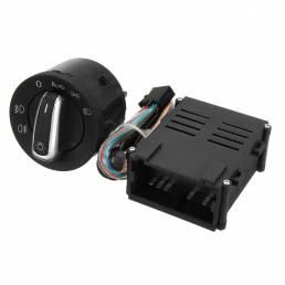 Módulo de interruptor del faro del coche Sensor para VW T5 T5.1 Transporter 2003-2015