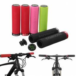 RockBros 1 par antideslizante bicicleta ciclismo manillar bicicleta MTB bicicleta BMX bicicleta cerradura en apretones