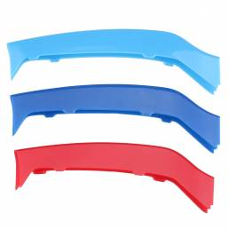 Tri Color Front Reel Cover Trim Strip para BMW 4 Series F32 F33 14-17