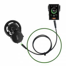 5 pines 70 cm BBS01 BBS02 BBSHD Ebike Conversion Parts Impermeable Cable de extensión para bicicleta motor Metro