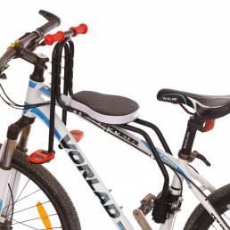 BIKIGHT Asiento de seguridad para niños Asiento para portabebés de montaje frontal para bicicleta Asiento de bicicleta d