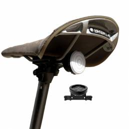 Raz Pro Luz trasera de bicicleta inteligente Alertas de freno Inducción Mezcla infinita de colores Sillín recargable Asi