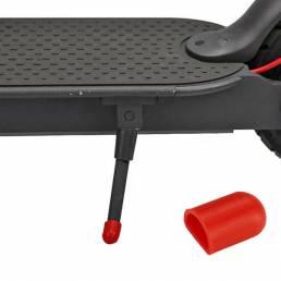 Protector de soporte antideslizante Silicona para accesorios de funda protectora de pie de scooter eléctrico