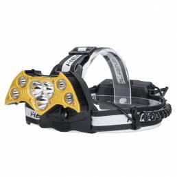 Elfeland2000LMfarocon18650Batería carga USB pesca linterna cámping caza ciclismo linterna