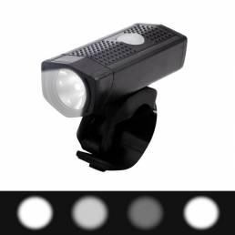 NQY 0112 # 350LM 300M 120 ° Proyector grande 4Modes USB Faro de bicicleta recargable Poratble Mini IPX6 Impermeable Luz