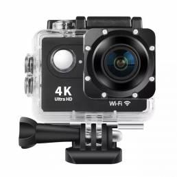 Cámara de acción XANES® H9 Ultra HD 4K 30fps WiFi 2.0 170D Cámara deportiva impermeable Cámaras de grabación de vi