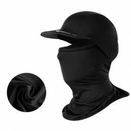 WHEELUP Multifuncional Seda de hielo Protección solar Cuello Protector de la cara Mascara Sombrero Gorro de bufanda de c