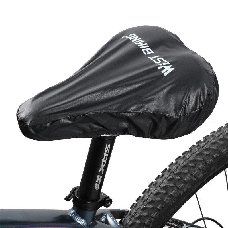 WEST BIKING Material de PVC Equipo de protección para bicicletas Cojín de bicicleta a prueba de lluvia Funda para lluvia