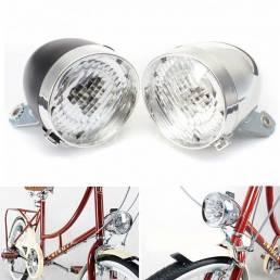 XANES LED Bicicleta Faro de bicicleta Impermeable vendimia Retro Ciclismo Luz delantera eléctrica motor