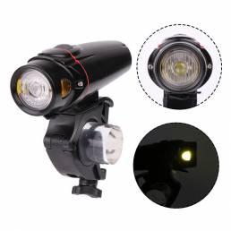 XANES XL24 LED Luz de bicicleta de ciclismo Carga USB Faro de bicicleta Scooter eléctrico Moto