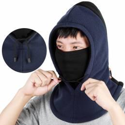 WEST BIKING Gorra de deportes de invierno cálido y transpirable a prueba de viento pasamontañas cara Mascara Cuello más