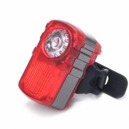 XANES Luz de Bicicleta 80LM Modo de Luz Doble / Multicolor Luz Trasera de Advertencia impermeable de USB Recargable