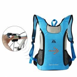 Playking 18L Samrt impermeable ciclismo indicador de seguridad mochila 3 modos de control remoto inalámbrico mochila de