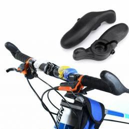 BIKIGHT 1 par manillar de bicicleta manillar de goma extremos de agarre manillar auxiliar al aire libre ciclismo