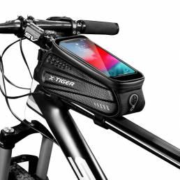 X-TIGER ES3 bicicleta Bolsa marco delantero tubo superior bicicleta Bolsa reflectante 6.5in teléfono Caso pantalla tácti