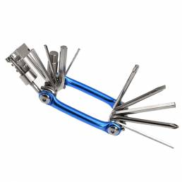 WEST BIKING 11-en-1 Reparación de bicicletas herramientas Kit de destornilladores de ciclismo de radios hexagonales mult