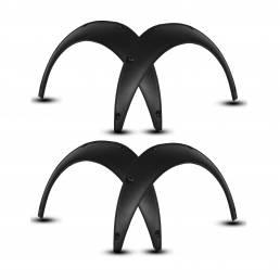 Universal Flexible Coche Wheel Fender Flares Extra Wide Body Rueda Arcos