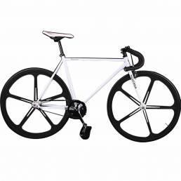 KOLUSSI TA119 700cc x 23cc Freno doble V Bicicletas de engranajes fijos Cuadro de acero de alto carbono desmontable DIY