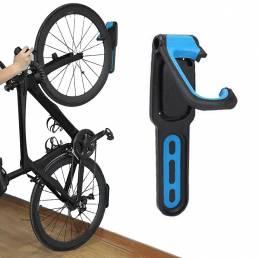 BIKIGHT 18 KG Capacidad de carga Soporte de bicicleta ajustable Soporte de almacenamiento Montado en la pared Gancho Per
