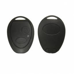 2 teclas Control remoto de tecla Caso con Batería y micro interruptores para Land Rover Discovery 2