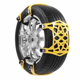 Antideslizante Coche Camión SUV Neumático de nieve Cadena Emergency herramienta Universal