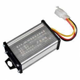 BIKIGHT36V/48V/60V / 64V / 72V a 12V10A Adaptador convertidor de CC para la fuente de alim