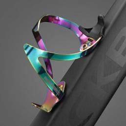 Portabidones para bicicleta ROCKBROS Aluminio Colorful Soportes para portabotellas Ultraligero MTB Bicicleta de montaña