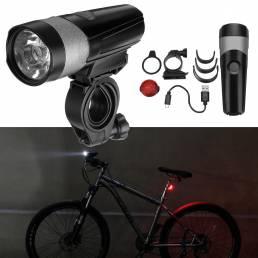 WHeeLUP600LMjuegodeluces de bicicleta bicicleta de luz trasera luz Set USB recargable IPX4
