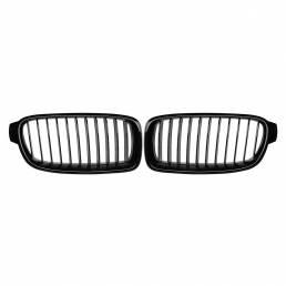 Par de rejilla frontal de riñón negro brillante para BMW F30 F31 F35 320i 328i 330i