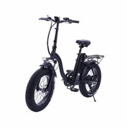 JINCHMA R8 bicicleta eléctrica de nieve femenina de 20 pulgadas 15Ah 48V 350W bicicleta eléctrica plegable 40 km / h vel