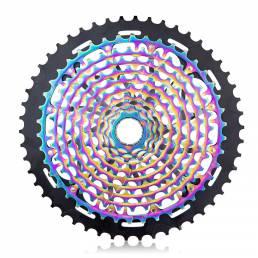 ZTTO CNC 11/12 Velocidad 9-50T Cassette Cambio de bicicleta Desviador trasero Colorful Rueda libre de bicicleta de monta